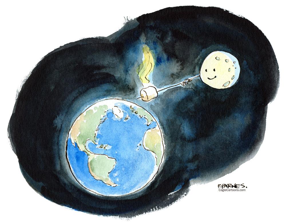 The Roasting by Pat Byrnes, PoliticalCartoons.com