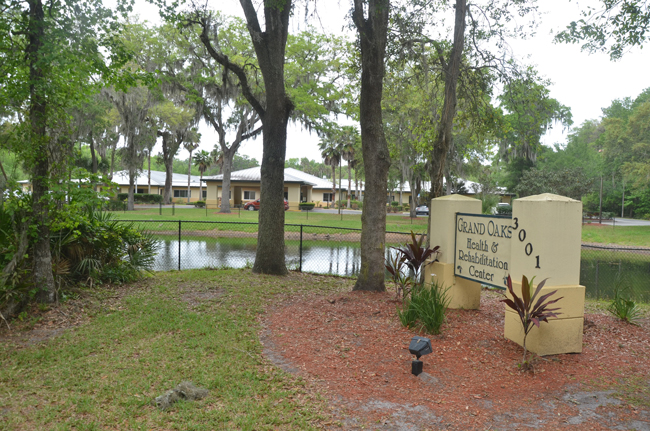 Grand Oaks off Palm Coast Parkway is one of the facilities ordered evacuated. (c FlaglerLive)