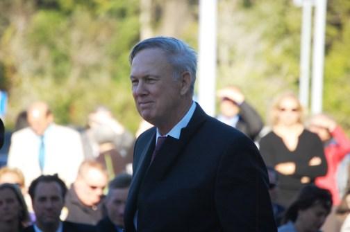 Judge Kim Hammond the day he retired, Nov. 5, 2010. (© FlaglerLive)