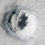 Hurricane Michael was captured from the International Space Station on Oct. 10 after the storm made landfall as a category 4 hurricane over the Florida panhandle. The National Hurricane Center reported maximum sustained winds near 145 mph. (NASA)