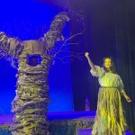 """Flagler Palm Coast's Thespians return to the stage with exuberant defiance this week, with Stephen Sondheim's musical, """"Into the Woods."""" (© FlaglerLive)"""