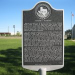 A marker in Kendleton, Texas, commemorates the Terry v. Adams case, in which the Supreme Court struck down a Texas Jim Crow law that disenfranchised Black voters. (Djmaschek/Wikipedia)
