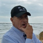 U.S. Rep. John Mica, who once represented Flagler County--and was in Flagler Beach earlier this month, surveying hurricane damage--faces a fight for survival in the Nov. 8 election. (© FlaglerLive)