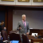 Sen. Keith Perry., a Gainesville Republican, filed the bill to enshrine bans on mask mandates in state law. (Facebook)