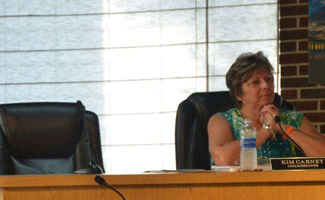 Kim Craney has been serving on the Flagler Beach City Commission since 2011. She also serves on the Flagler Auditorium board. (© FlaglerLive)