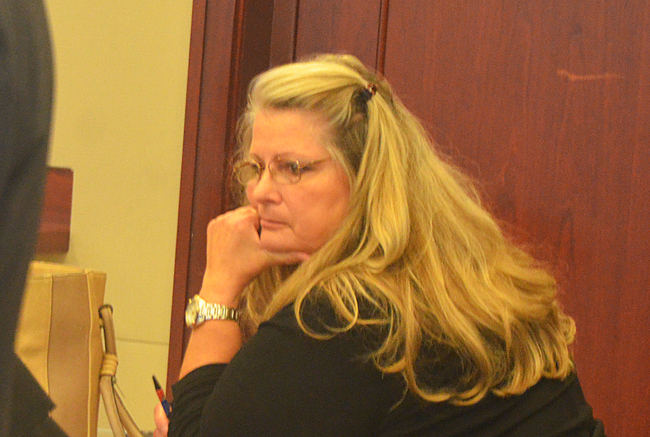 A jury found Kimberle Weeks guilty on felony counts today, ending a four-day trial in a three-year case. But the defense will appeal. (c FlaglerLive)