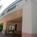 The Flagler County Pblic Library on Palm Coast Parkway. (© FlaglerLive)