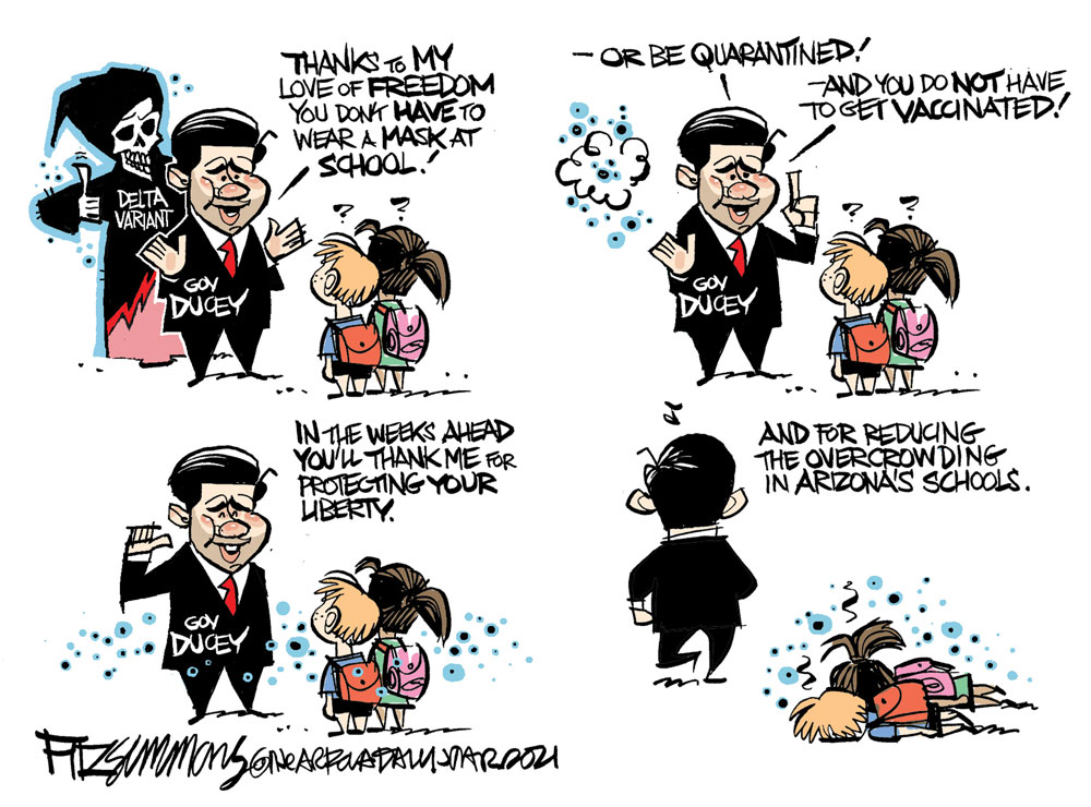 David Fitzsimmons, The Arizona Star, Tucson.