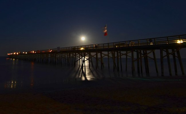 Moonlight fishing is coming to the Flagler Beach pier. (chrisdupe)