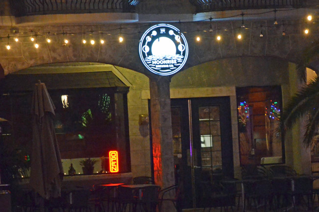 Entrepreneur Night is at Moonrise Brewery at European Village in Palm Coast this evening. See below. (© FlaglerLive)