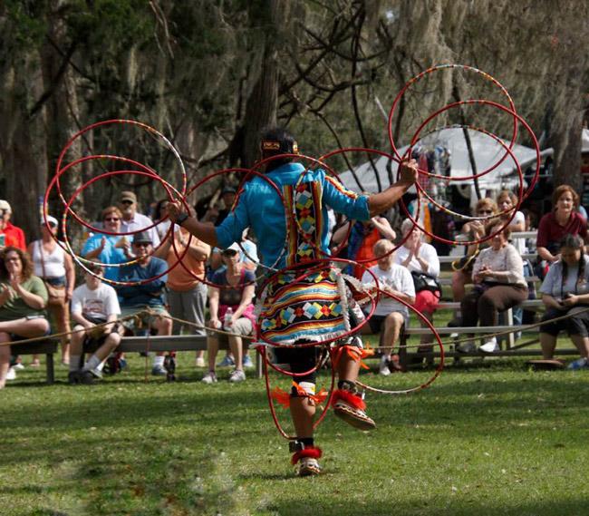native americal festival princess place