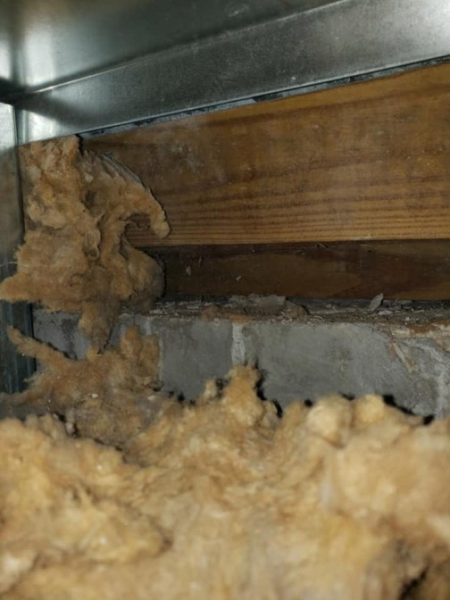 Old insulation. (CPBA) sheriff's operations