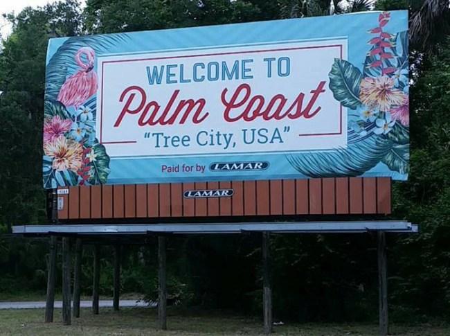 a1a palm coast billboard