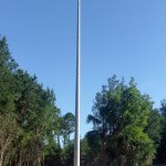 The new cell tower at Farmsworth Drive and Palm Harbor Parkway (Palm Coast).