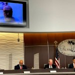 The Palm Coast City Council today had its first full discussion on finding its next city manager. (© FlaglerLive)