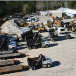 Palm Coast's public works facility sits on 7 acres west of U.S. 1, but would expand with new construction. (Palm Coast)