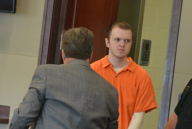 Paul Dykes goes on trial today on nearly two dozen counts of child-sex crimes. (© FlaglerLive)