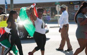 jon hardison black lives matter march