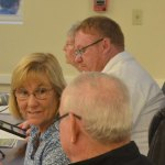 Bunnell Mayor Catherine Robinson controls the city commission with an iron gavel. (© FlaglerLive)