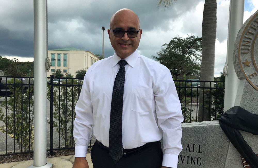 Jorge Salinas is an assistant city manager in Albany, Ore. (Flagler County)