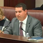 Sen. Travis Hutson, who represents Flagler County, chaired a committee hearing on a controversial vacation-rental proposal today, and voted against the measure, though it passed, 7-3. (Florida Chanlle)