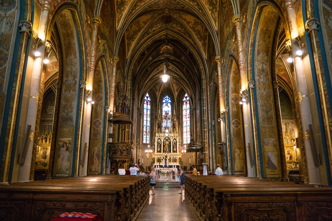 The Basilica of St. Peter and St. Paul in Prague, Czech Republic. Today is St. Peter and Paul Day. (Nan Palmero)