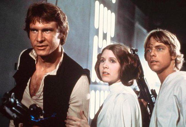star wars released 1977