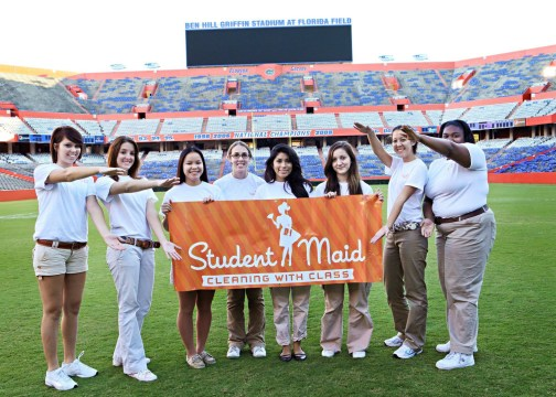 Student Maid is rooted in Gainesville's Gator country. (Student Maid)