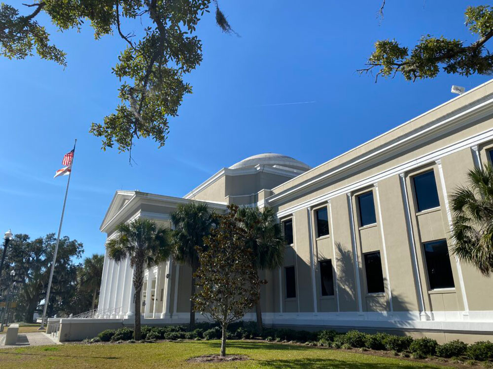 The Florida Supreme Court building in Tallahassee. (Michael Moline)