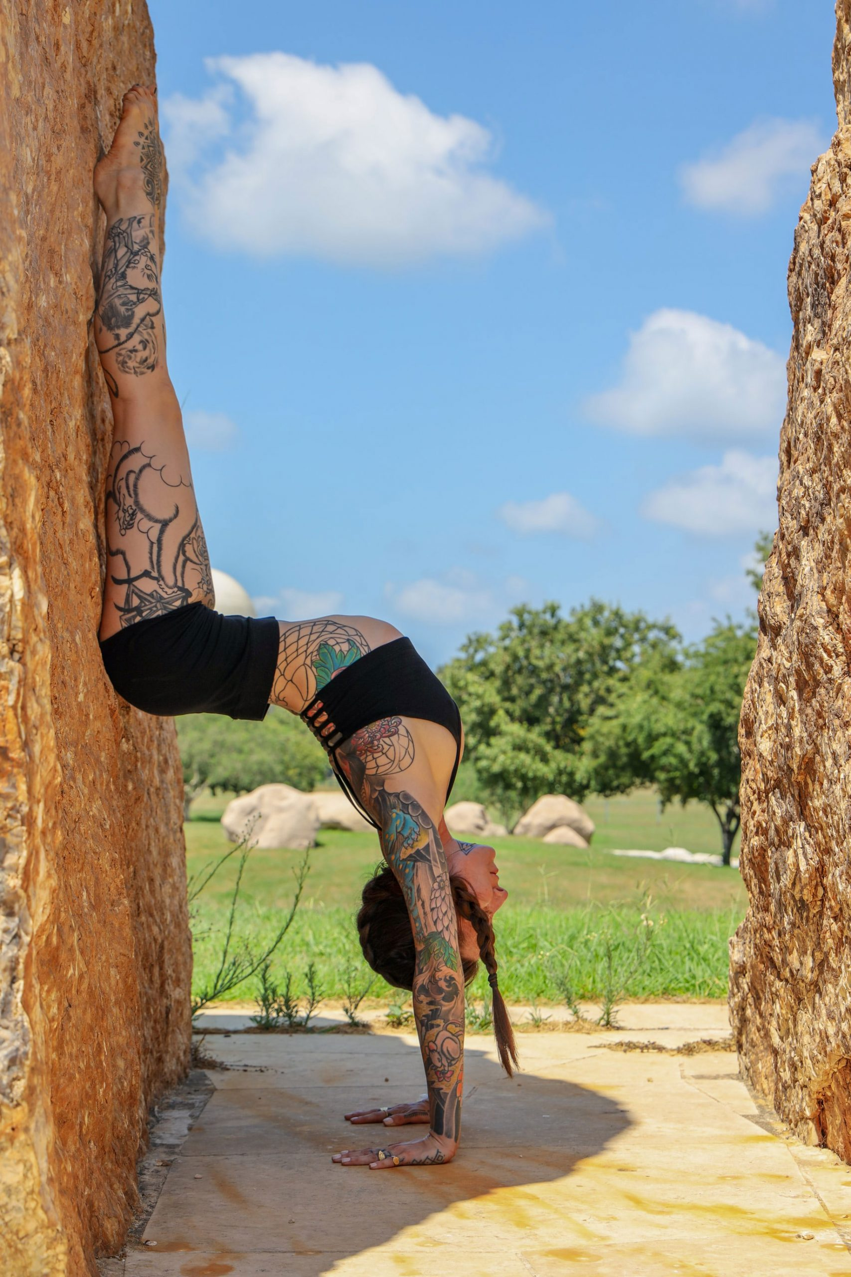Tattoos have been rebelling against an upside down world since ancient times.