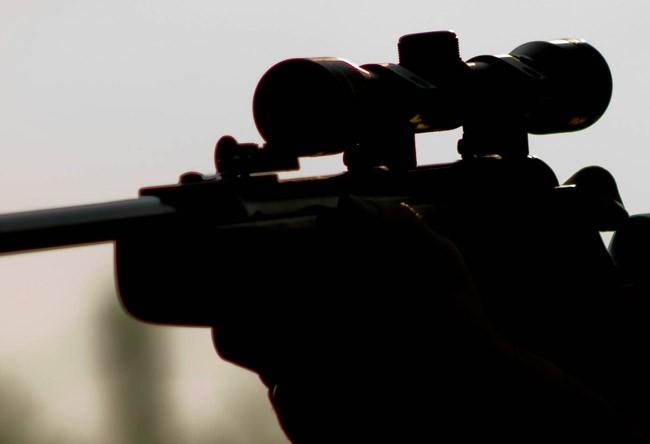 toy gun rifle arrest on assault charge