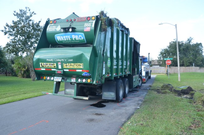 waste pro truck