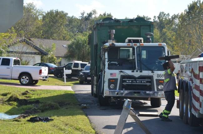 waste pro truck fatality