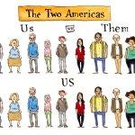 The two Americas, Pat Byrnes, PoliticalCartoons.com