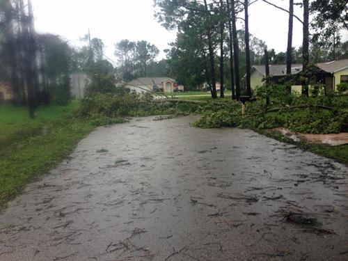 W-Section hurricane Matthew
