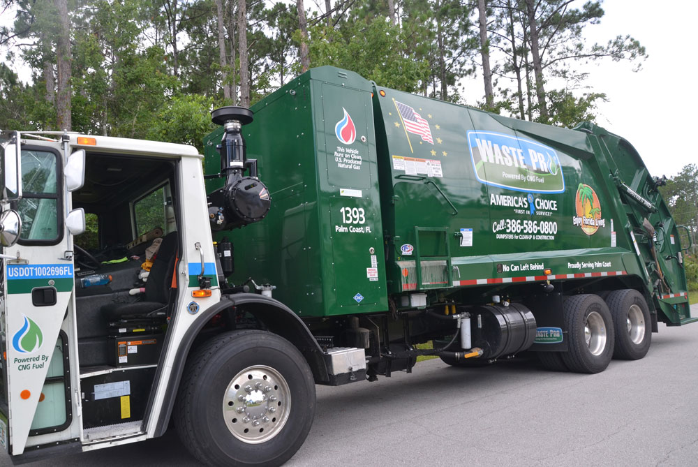 Waste Pro says it's been short of drivers. Palm Coast is out of patience. (© FlaglerLive)