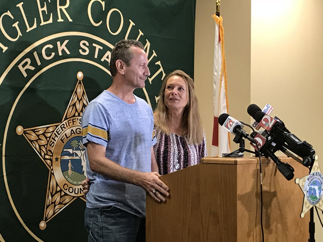 missing child news conference