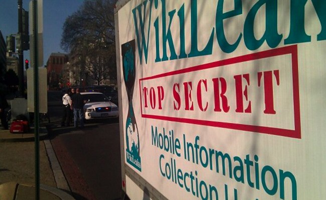 When Wikileaks had a sense of humor. (John Penley)