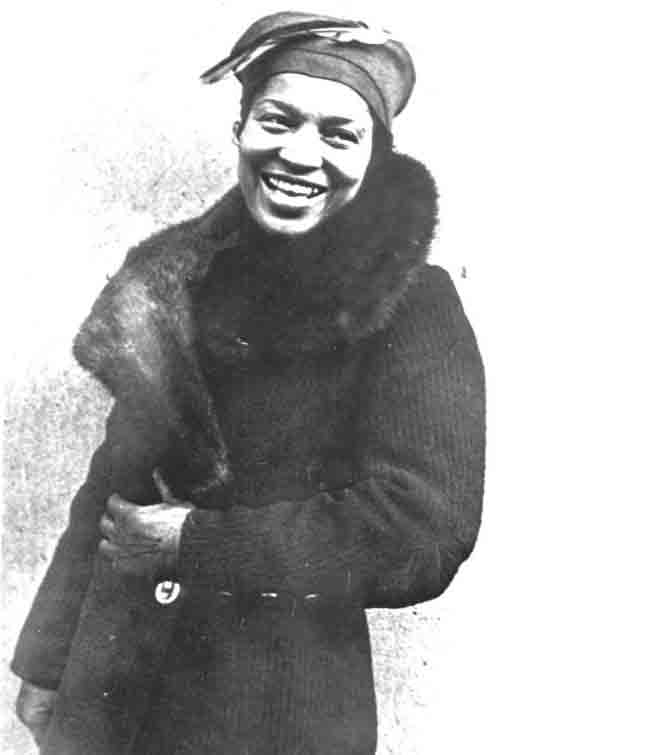 Zora Neale Hurston, the pride of Central Florida, is celebrated this week with an annual festival in Eatonville. See below. (Florida Memory)