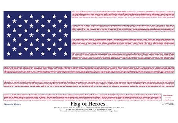 Flag of Heroes 9/11