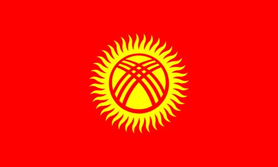 bandera de kirguistan