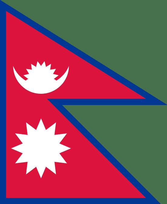 Nepal's Flag