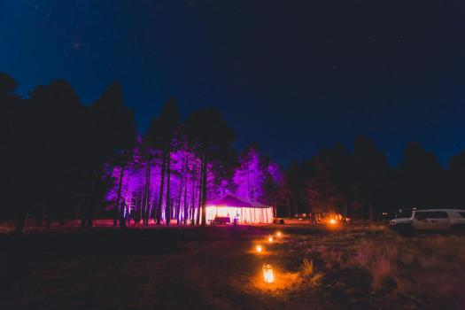 enchanted forest wedding flagstaff