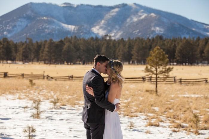 Flagstaff Wedding Packages Winter Elopement