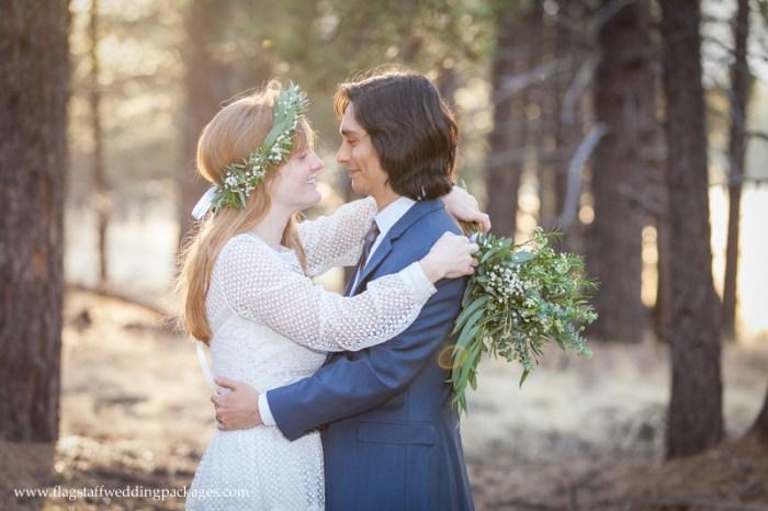 Flagstaff Wedding Packages Spring Elopement