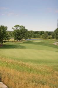 The 9th hole, Black Bear Ridge Golf Course (Photo: Scott MacLeod)