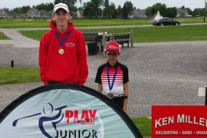 The PLAY Junior Golf Tour and the St. Lawrence Junior Tour have created a partnership (File photo: PJGT)