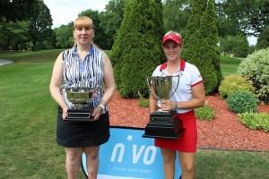 Francesca Palardy and Josee Doyon win 2016 Quebec Provincial Titles (Photo: Golf Quebec)