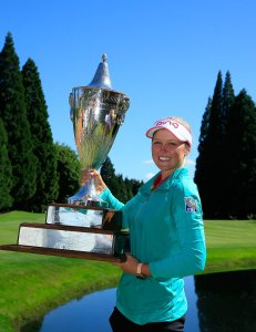 The Cambia Portland Trophy is Brooke's for another year