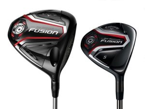 Callaway Big Bertha Fusion Driver and Fairway (Photo: Callaway Golf)
